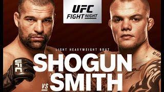 UFC Hamburg Shogun v Smith Fight Breakdowns & Predictions