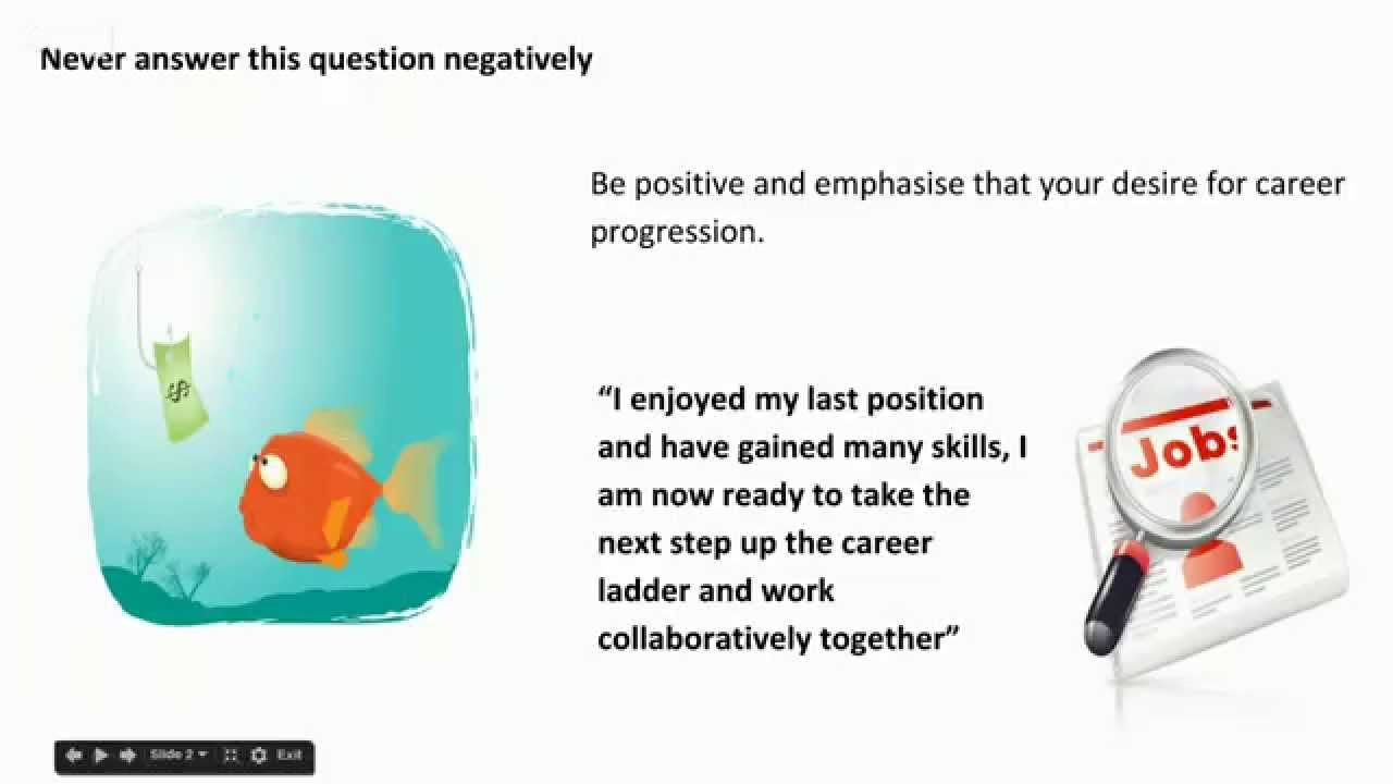High Quality Interview Questions And Answers Why Did You Leave Your Last Job?