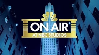 On Air at NBC Studios - October 2016