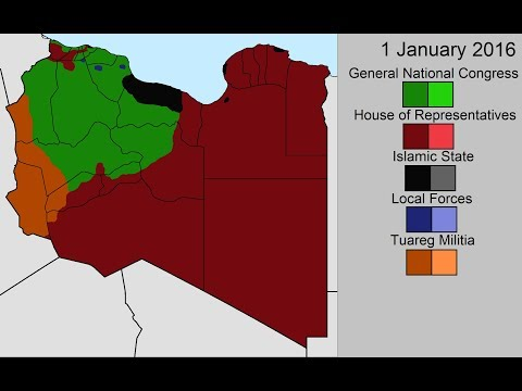 The Second Libyan Civil War: Every Day
