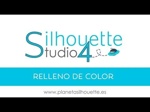 Silhouette Studio 4: Relleno de color (12) - YouTube