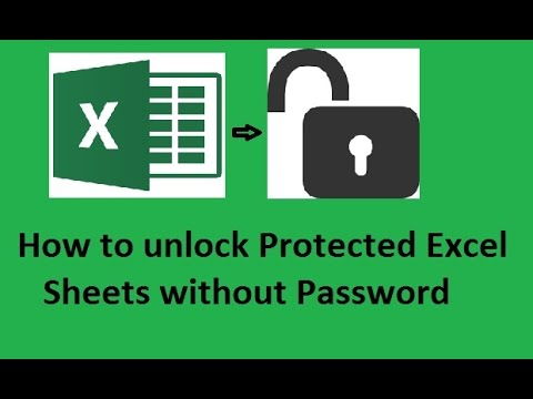 forgotten password on excel workbook