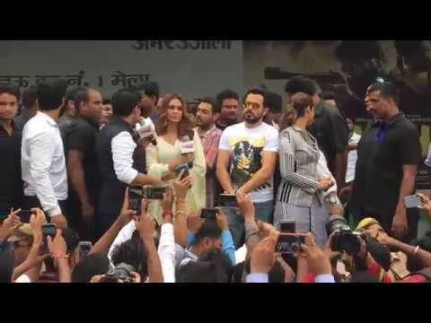 BAADAHAHO PROMOTION IN Lucknow Ramswaroop College-IMRAN HASHMI,ILLEANA D CRUZE,ESHA GUPTA