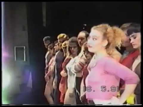 """""""A CHORUS LINE"""" 1990-91 Il primo cast italiano in assoluto"""