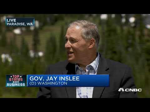 Welcome DGA Chairman, Governor Inslee