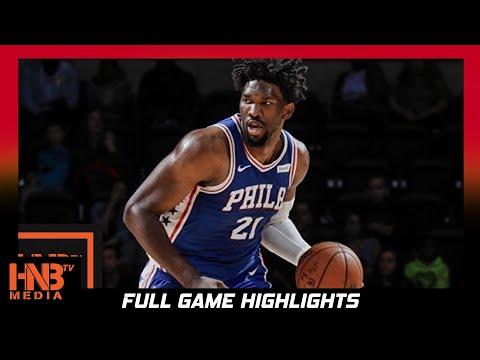 Joel Embiid (30 pts) Full Highlights vs Pistons / Week 2 / Sixers vs Pistons / 2017 NBA Season