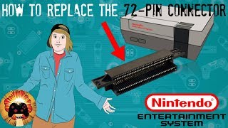 How to Replace the 72-Pin Connector in the NES & Fix that Blinking Light