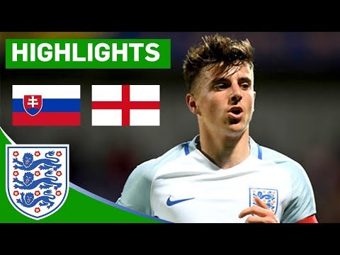 Stoppage Time Equaliser Dampens Great England Performance | Slovakia U19 v England U19 | Highlights