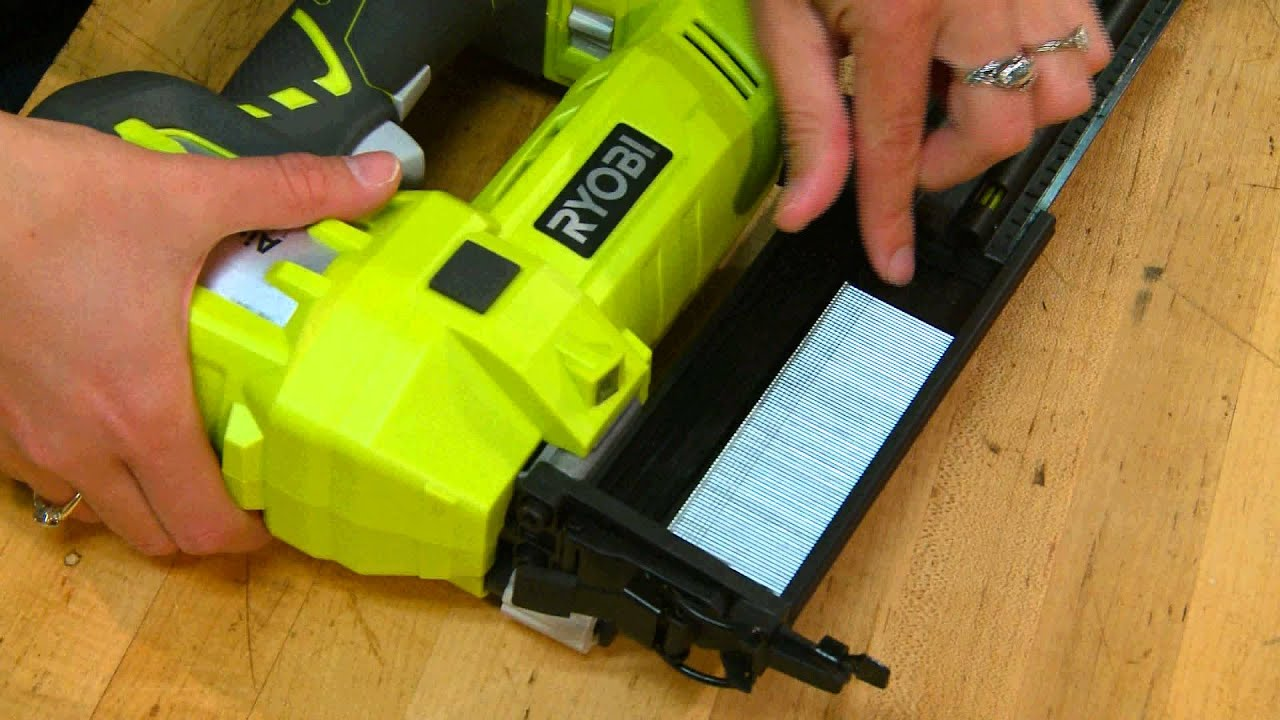 We Tried It: Ryobi Cordless Brad Nailer Review - YouTube