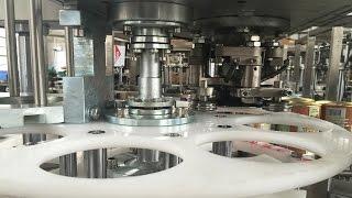 metal cans sealing machine automatic lids falling tin container sealer equipment máquina de sellado