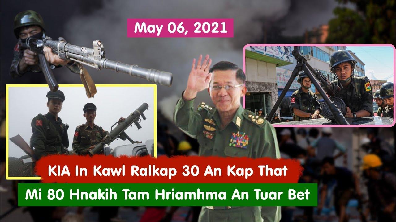 May 06, 2021 - KIA In Kawl Ralkap 30 Kap That, Mi 80 Hnakih Tam Hriamhma An Tuar Bet