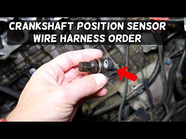 Crankshaft Position Sensor Wiring Harness Diagram Bmw E90 E91 E92 E93 Youtube