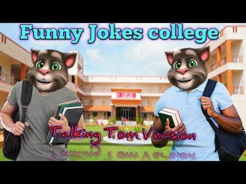 Funny Jokes College | Talking Tom Version | Comedy series#8