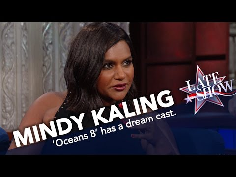 Mindy Kaling Drops Hints About The 'Oceans 8' Movie