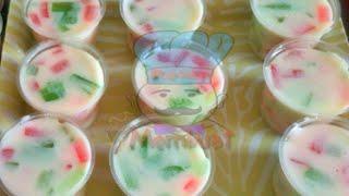 Resep Membuat Puding Cup Mozaik Fla