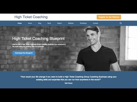 Lead Generating Website with High Ticket Sales Funnels