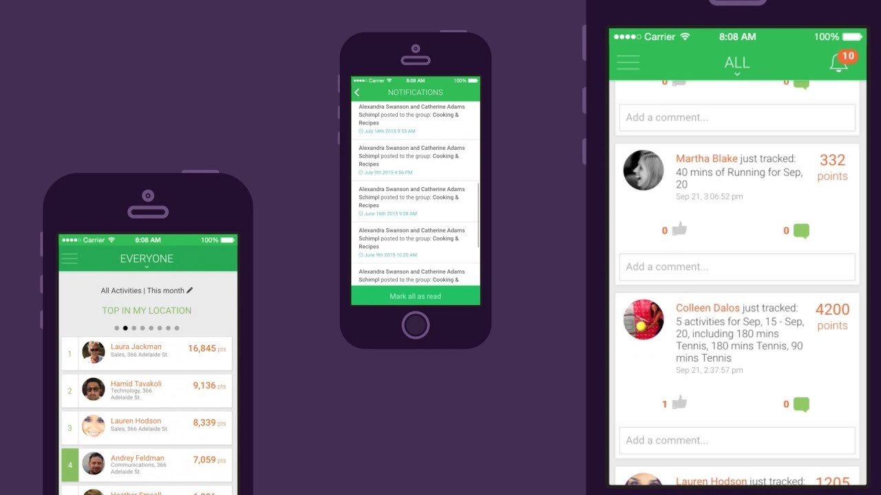 Our Work: Rangle io's Demo of the 'Sprout At Work' Mobile App