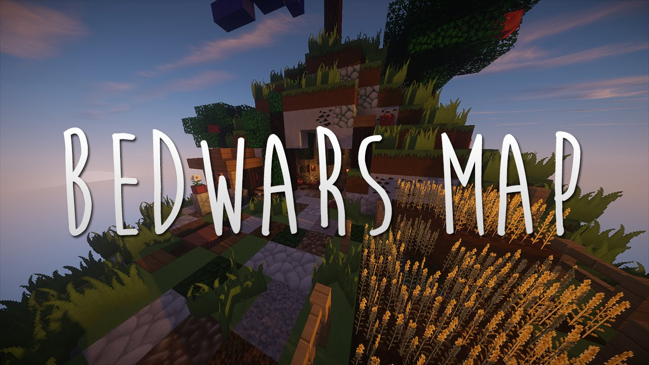 Minecraft Map Bedwars Map Free Download Phizzle Youtube