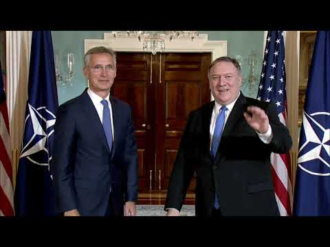 Secretary Pompeo Meets with NATO Secretary General Stoltenberg