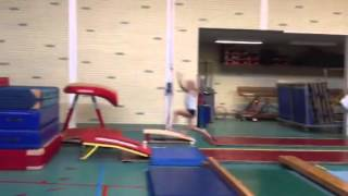 Dana kan ook lekker springen!