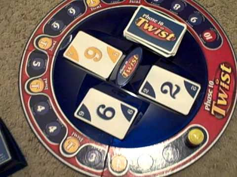 Phase 10 Twist Card Game Review Youtube