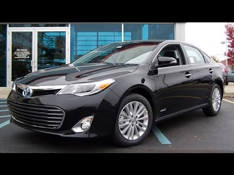 2014 Toyota Avalon Xle Touring Full Review Start Up