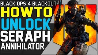 How to UNLOCK SERAPH - BLACKOUT CHARACTER GUIDE UNLOCK BLACK OUT CHARACTERS