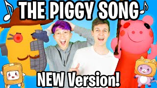 ULTIMATE ROBLOX PIGGY SONG - NEW DANCE VERSION! (Official LankyBox Music Video)