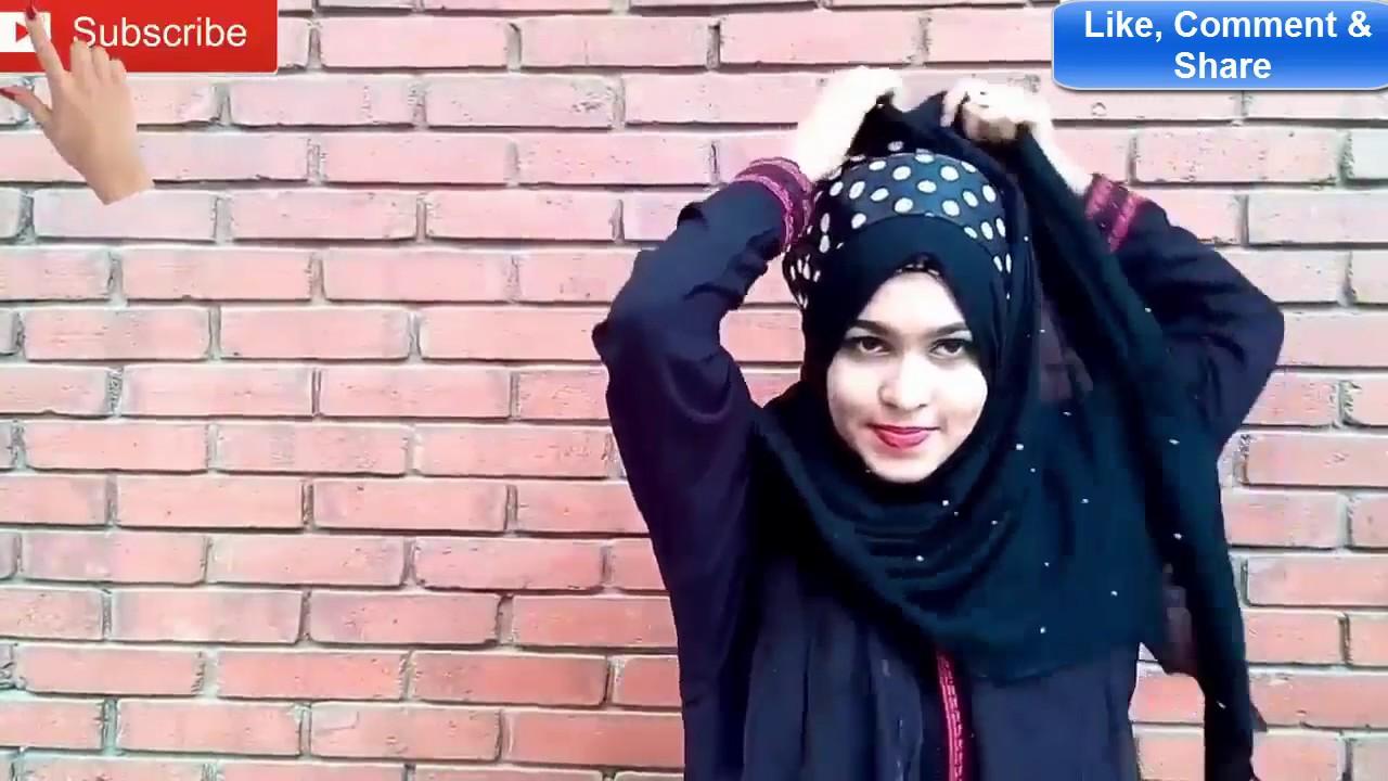 Bangladeshi Cute Girl Hijab Style -