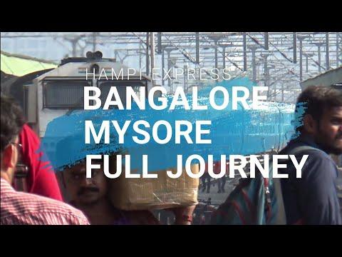 Full Journey | Bangalore - Mysore | HAMPI Express | 3AC