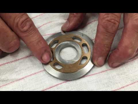 How To Recognize Wear On A Parker F12 Hydraulic Pump Valve Plate