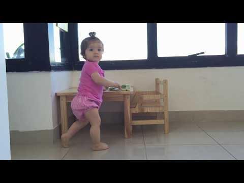 Montessori weaning Table / Mesa Montessori de desmame