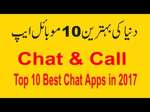 Top 10  Best Chat Apps in 2017