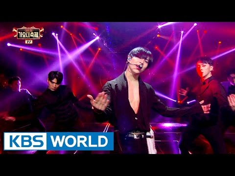Taemin (SHINee) - One by one / Press your number [2016 KBS Song Festival / 2017.01.01]
