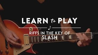 Pity, that Slash guitar lick