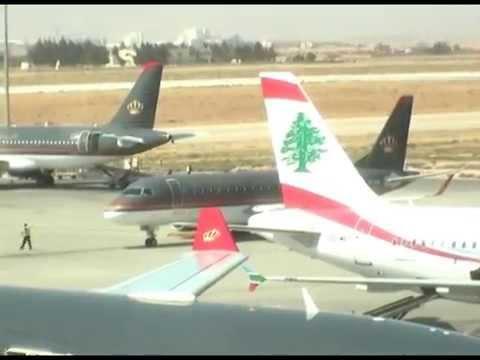 Amman Int'l airport (QAIA) airplane spotting