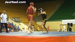 7th Sanda World Cup (2014) - Men's 85kg Round-Robin 1