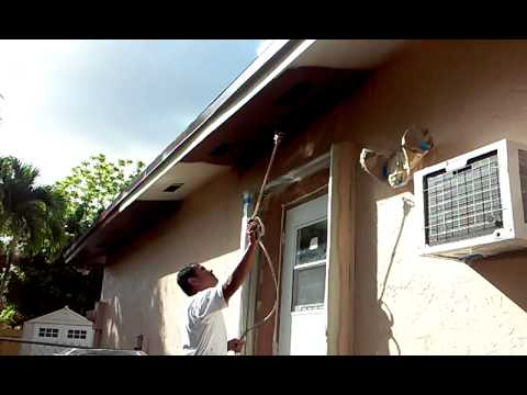 How to Painting the Soffit  YouTube