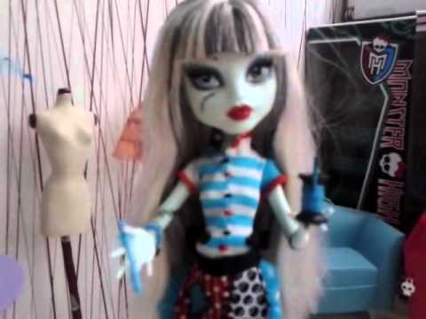 Monster High  Dress up  (part 1)