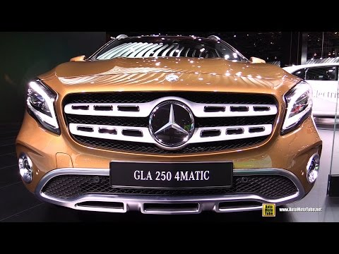 2018 Mercedes GLA 250 4Matic - Exterior and Interior Walkaround - Debut at 2017 Detroit Auto Show
