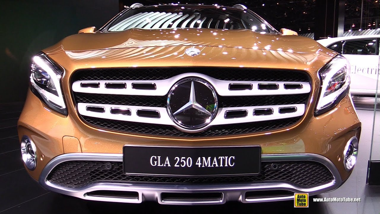 2018 Mercedes Gla 250 4matic Exterior And Interior Walkaround Debut At 2017 Detroit Auto Show You