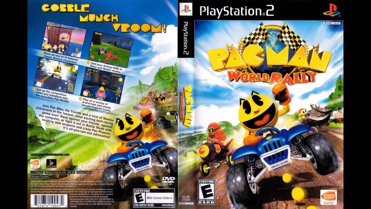 Pac-Man World Rally de ps2 en pkg para ps3 HFW
