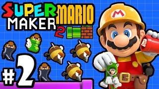 Super Mario Maker 2 Player - Nintendo Switch Gameplay Walkthrough PART 2: Multiplayer & Story Mode