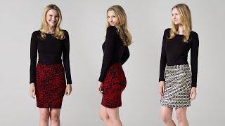 How To Make A Draped Skirt   Teach Me Fashion