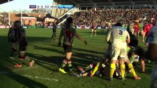 H-Cup 2013-14 Harlequins vs Clermont 11 Jan '14 Full Match