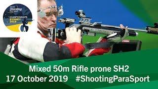 R9 Mixed 50m Rifle prone SH2 | 2019 World Shooting Para Sport Championships