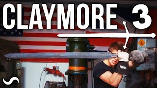 MAKING A SCOTTISH CLAYMORE SWORD!!! PART 3