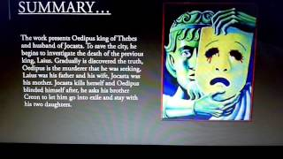 presentation Oedipus the king book