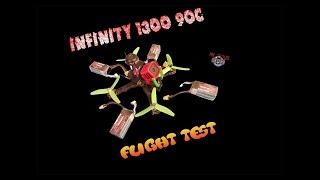 Infinity Graphene 1300 90C Test Flight - Mr.Zitus FPV