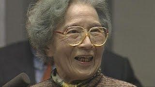 女優の吉行和子さんの母親で、NHKの連続ドラマ「あぐり」のヒロインのモ...
